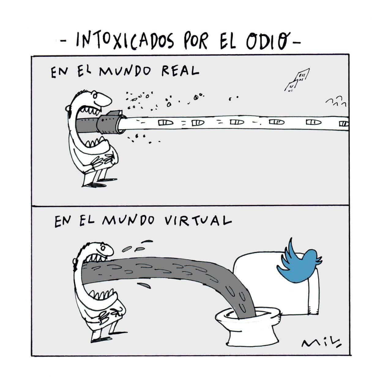 Intoxicados por el odio - #Caricatura7días 1