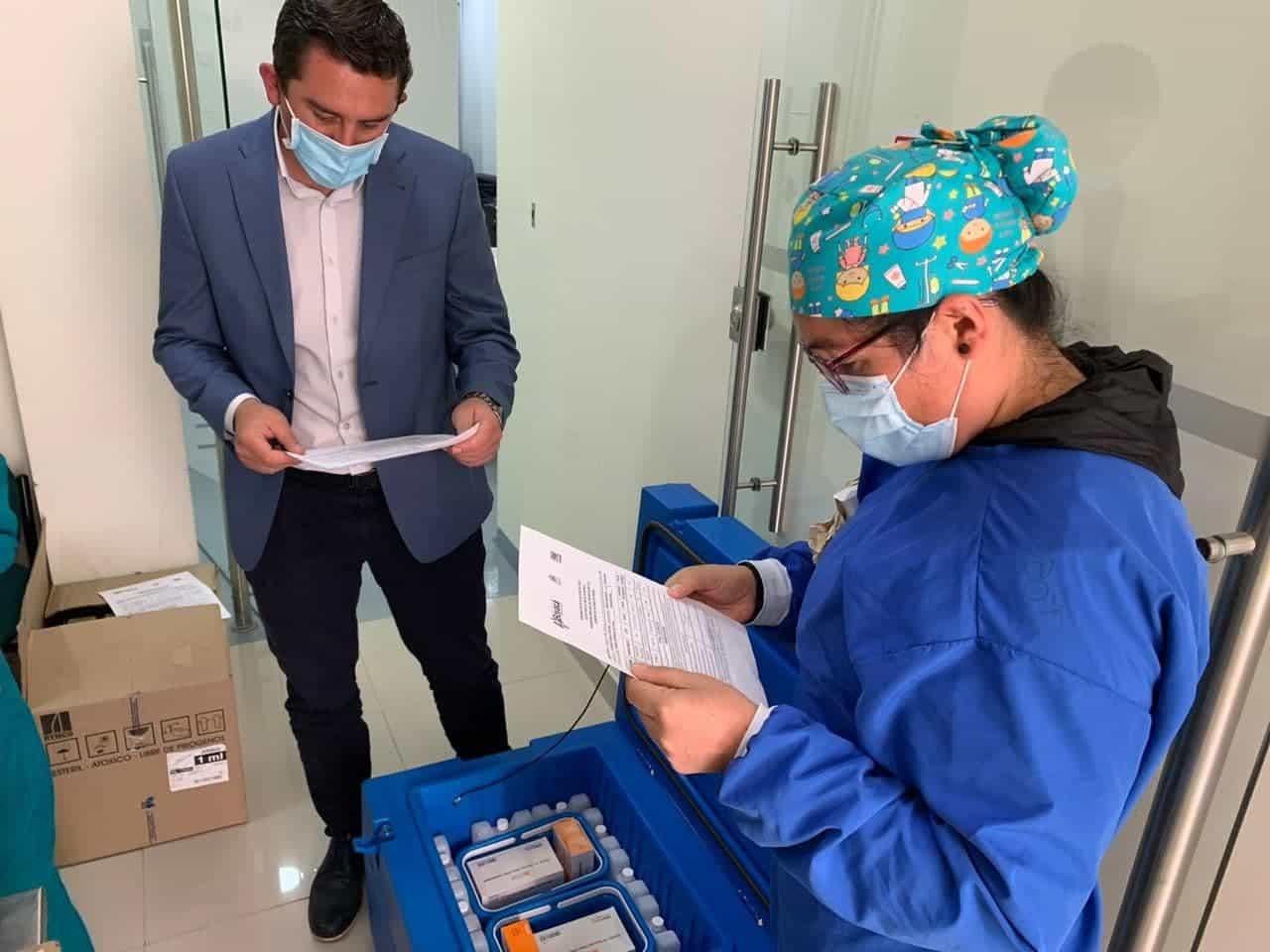 Así se distribuirán las vacunas que llegaron ayer a Boyacá 1