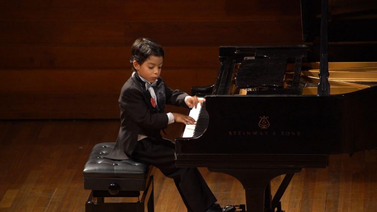 Un niño pianista de Tunja, entre los mejores del mundo 1