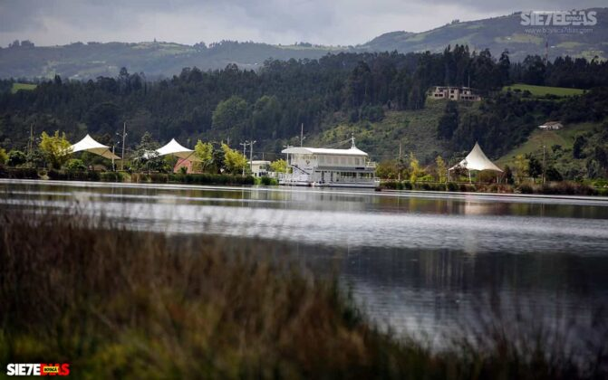 [Galería] - Así es el Sochagota, un lago artificial construido hace 66 años, perfecto para visitar por estos días 8