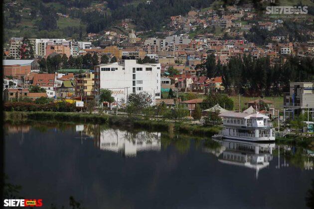 [Galería] - Así es el Sochagota, un lago artificial construido hace 66 años, perfecto para visitar por estos días 1