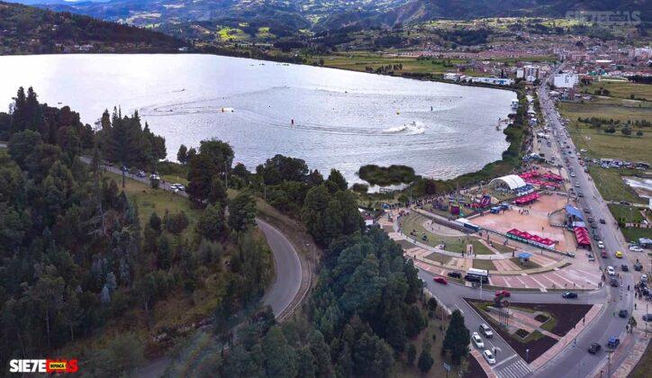 [Galería] - Así es el Sochagota, un lago artificial construido hace 66 años, perfecto para visitar por estos días 5