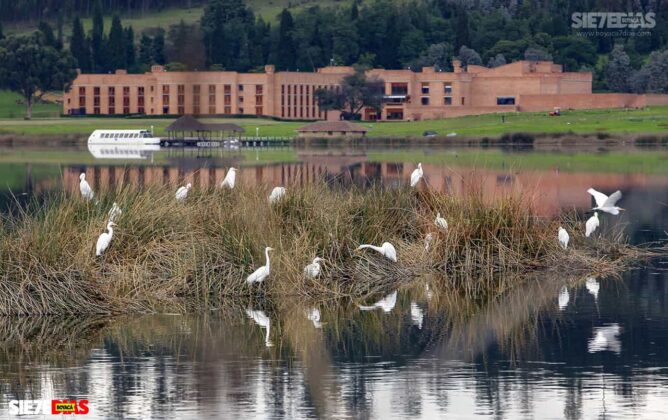 [Galería] - Así es el Sochagota, un lago artificial construido hace 66 años, perfecto para visitar por estos días 3