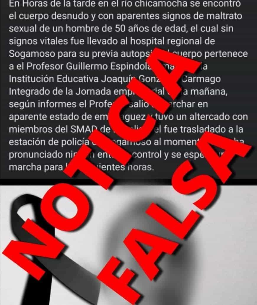 Alcalde de Sogamoso pide que investiguen fuente de noticia falsa #Tolditos7días 1