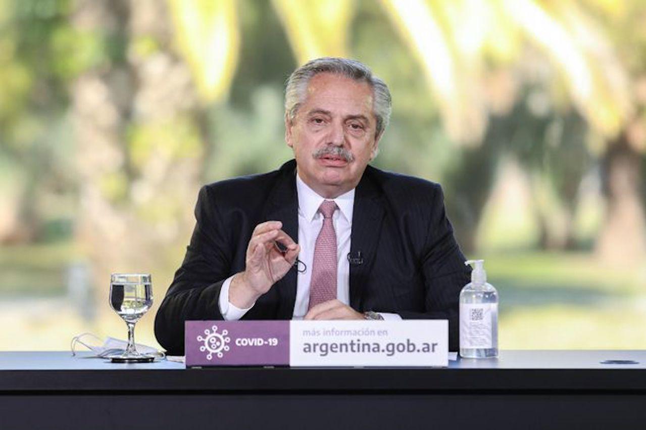 Presidente de Argentina Alberto Fernández se refirió a crisis social de Colombia por el Paro Nacional 1