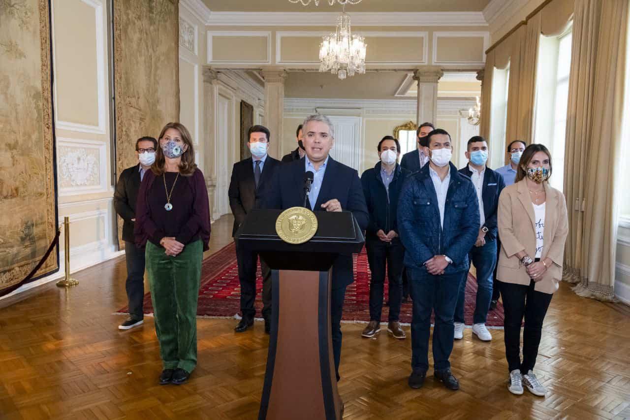 Presidente Duque solicita al Congreso de la República el retiro del proyecto de reforma tributaria 1