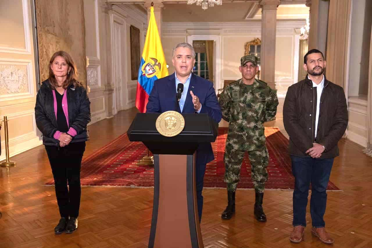 Presidente Iván Duque anuncia militarizar las calles para hacer frente a actos vandálicos 1
