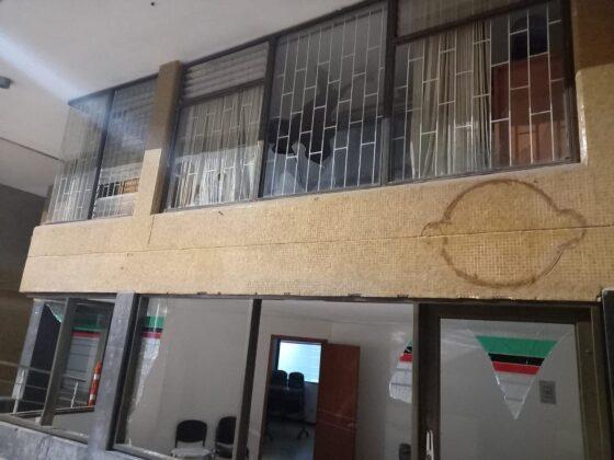 La Alcaldesa de Duitama explica qué pasó anoche en los actos vandálicos al edificio administrativo 2