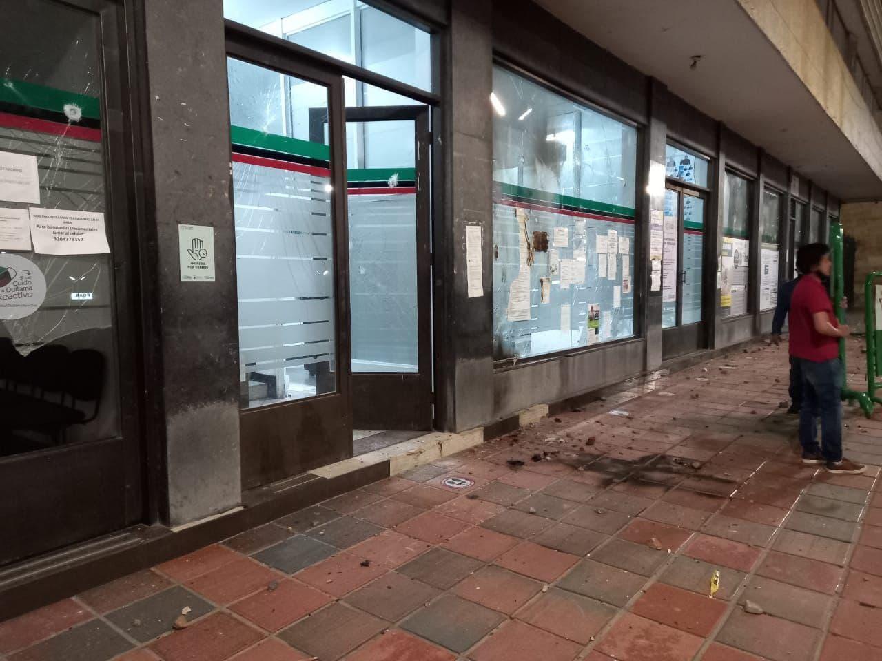 La Alcaldesa de Duitama explica qué pasó anoche en los actos vandálicos al edificio administrativo 1