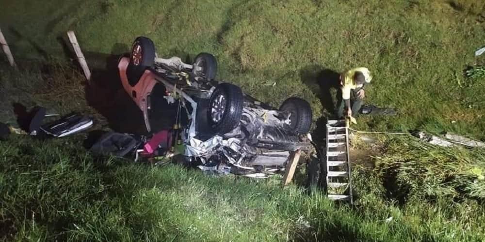 Un muerto y dos heridos en accidente de tránsito en la vía Duitama – Paipa 1