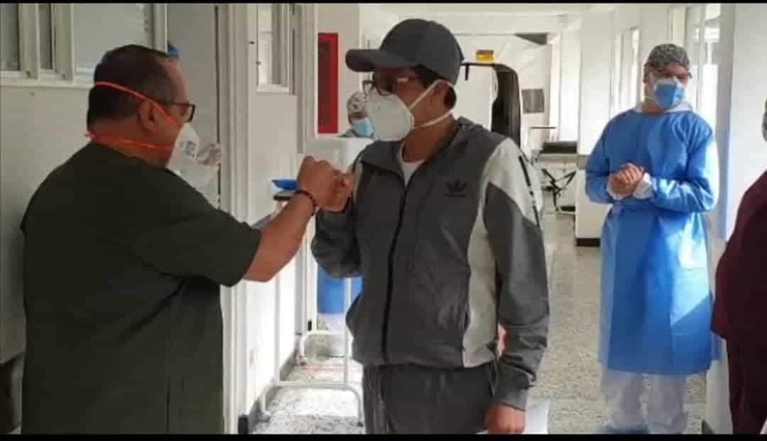 El alcalde de Gámeza abandonó ayer el Hospital de Soatá #Tolditos7días 1