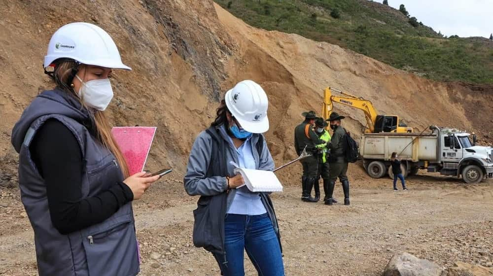 Corpoboyacá cerró explotaciones mineras en Cucaita, Corrales y Sogamoso 1