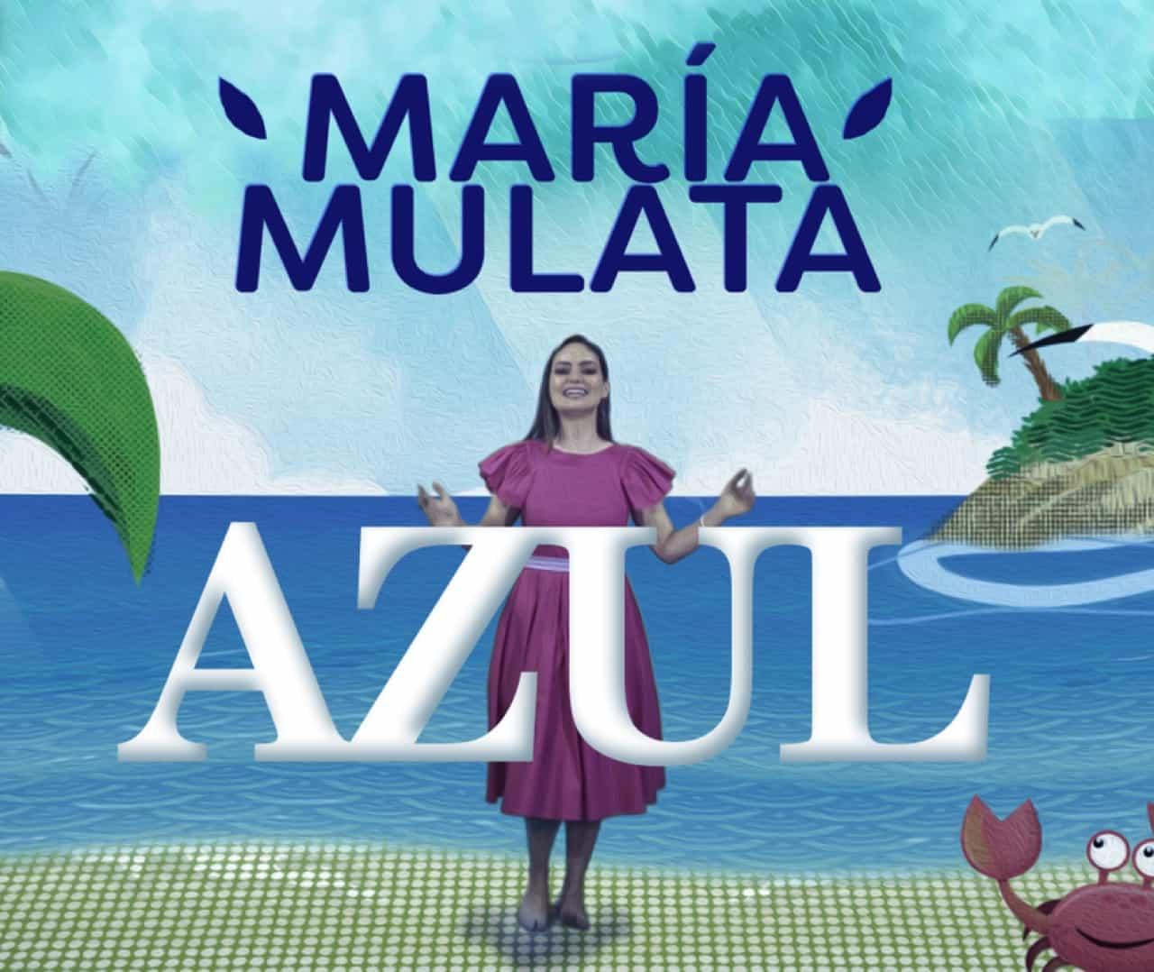 'Azul', el nuevo sencillo de María Mulata 1