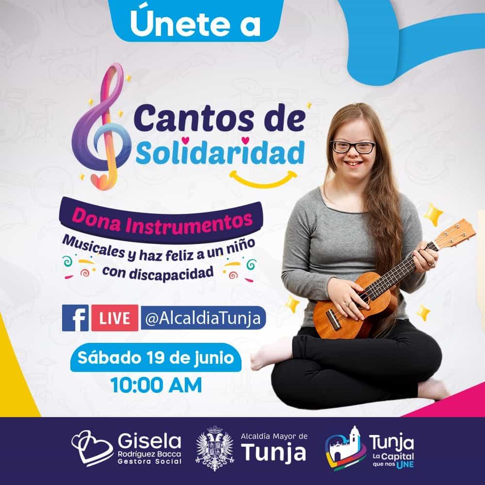 """""""Cantos de Solidaridad"""", el programa que promueve la gestora social de Tunja 1"""