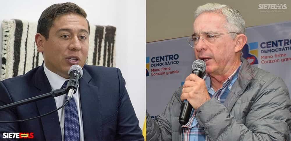 La respuesta de Carlos Amaya al expresidente Álvaro Uribe Vélez #Tolditos7días