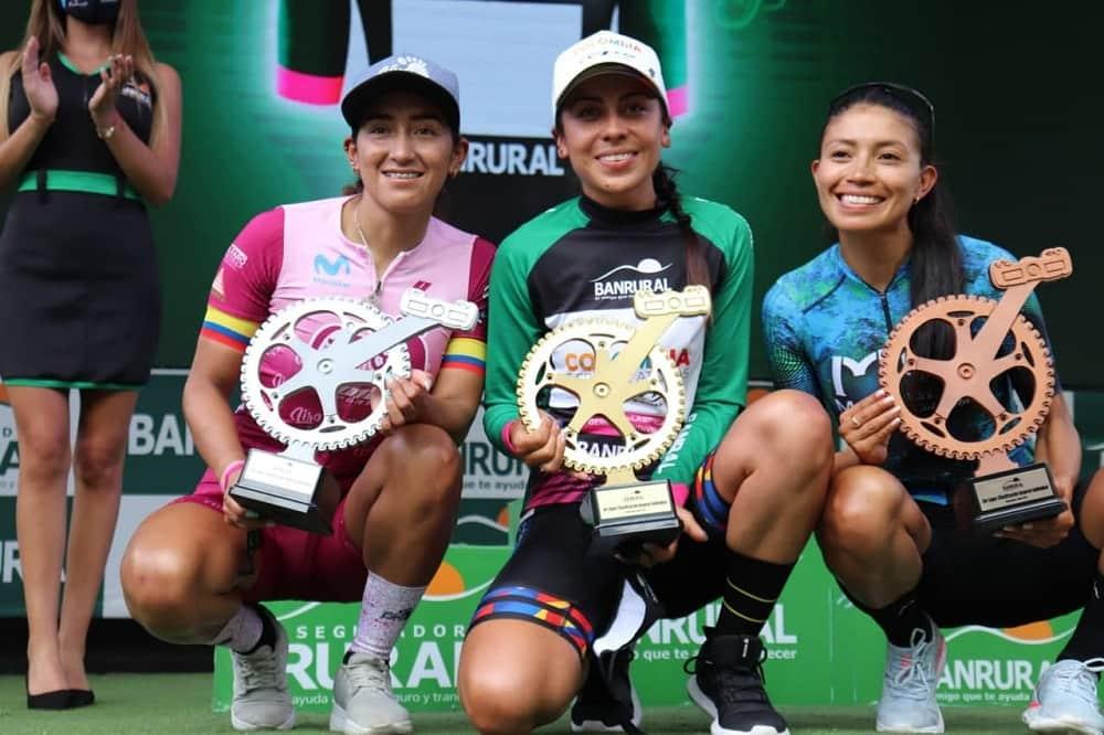 Ciclista boyacense, campeona de la Vuelta a Guatemala 2021 1