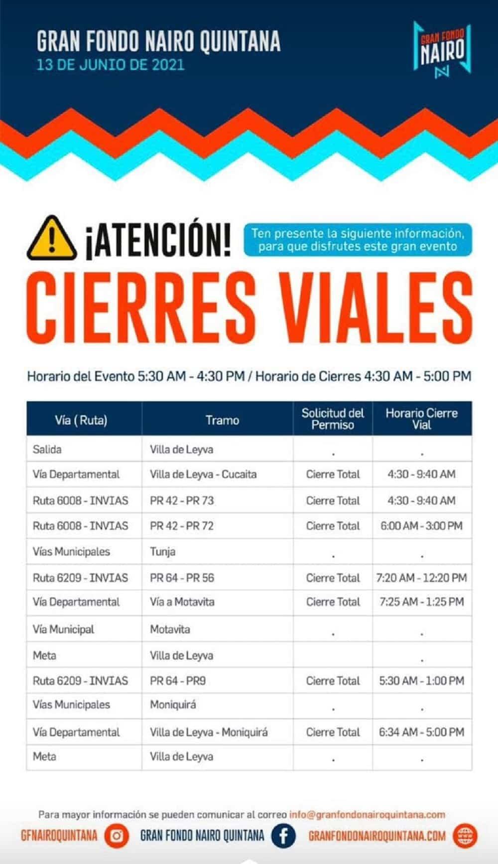 Hoy empieza el Gran Fondo Nairo Quintana en Villa de Leyva 2