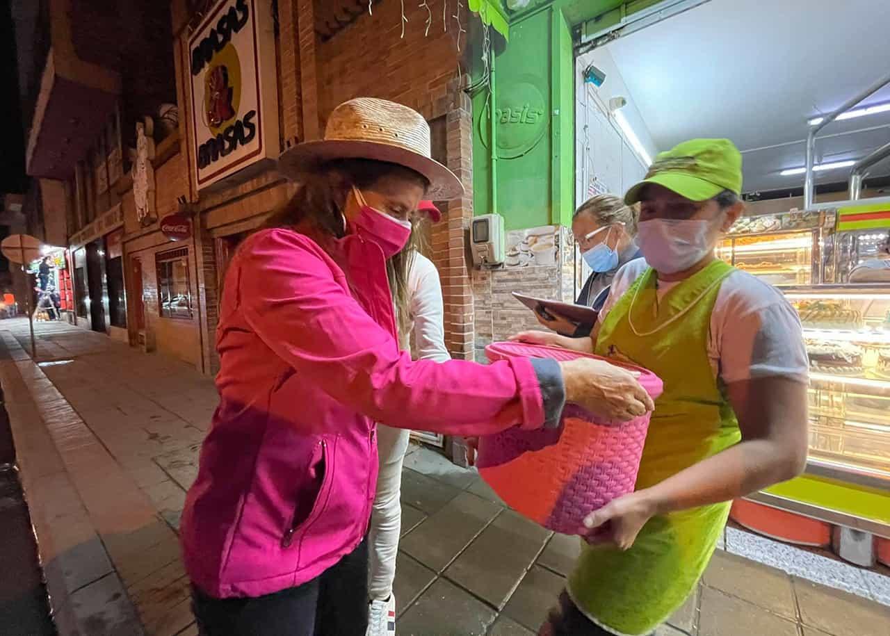 Constanza Ramírez arrancó campaña #Tolditos7días 1