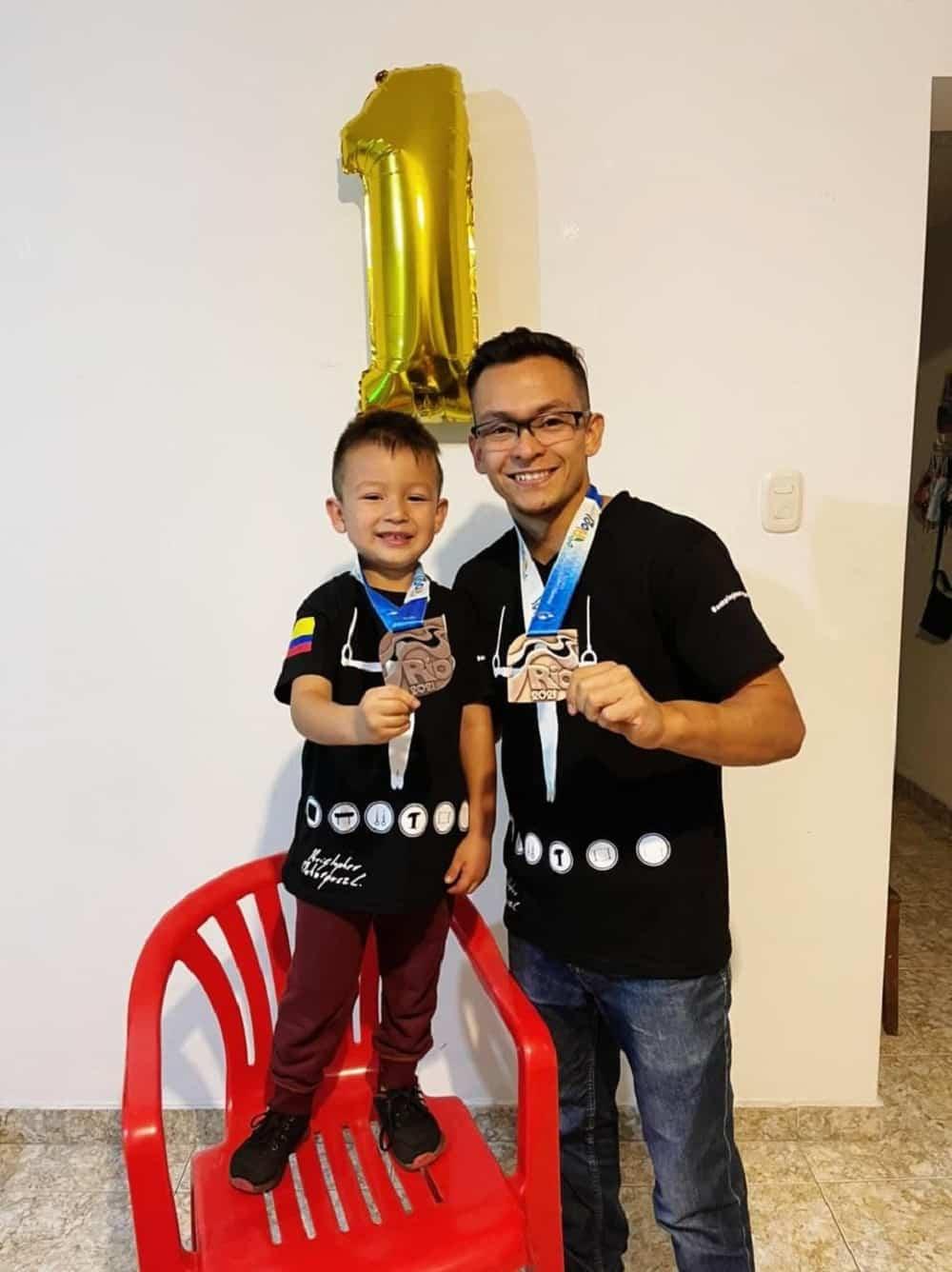 Kristopher Bohórquez, el talentoso gimnasta boyacense que no se cansa de ganar medallas 2