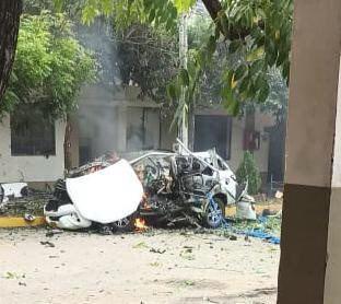 Un carro explotó en Batallón del Ejército en Cúcuta, Norte de Santander 2