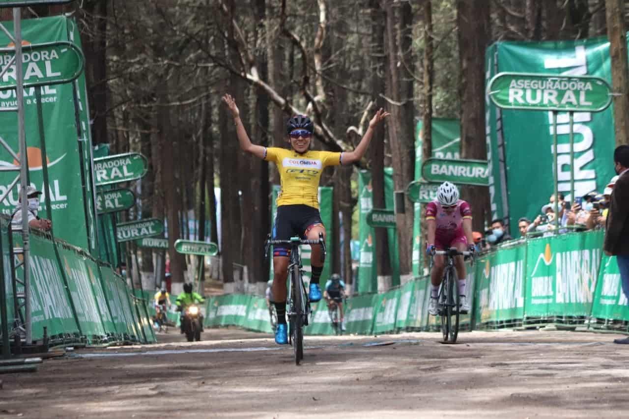 Lorena Colmenares, en el liderato de la Vuelta a Guatemala 1