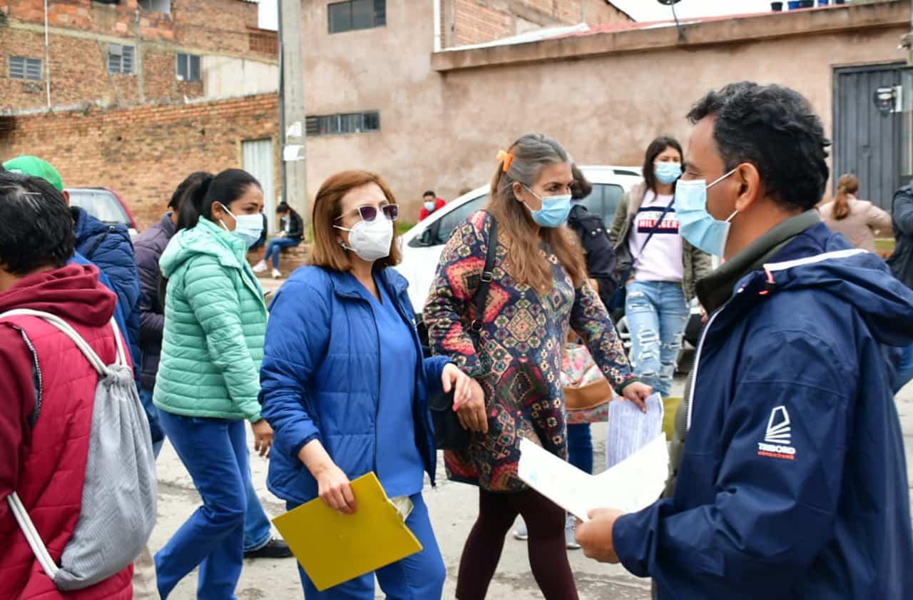 La radiografía de lo que está pasando hoy en medio de la pandemia en Tunja, según la Secretaria de Protección Social #LaEntrevista7días 1