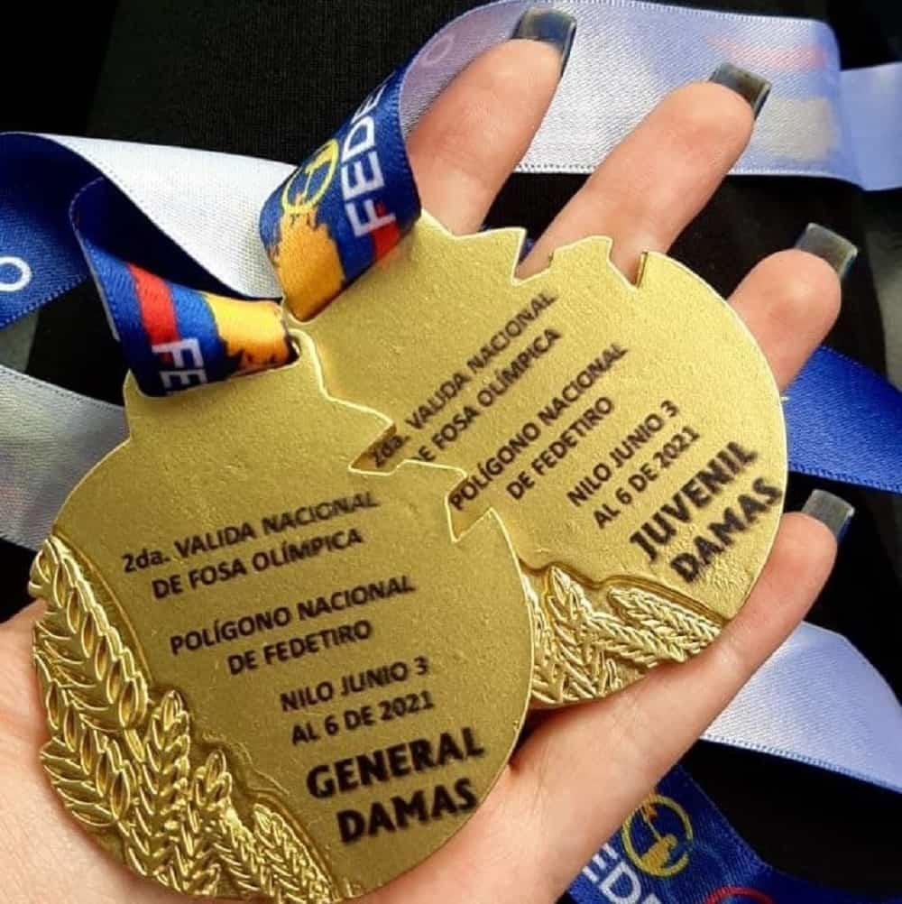 Mariana Morales puso la mira en el oro y lo logró 2