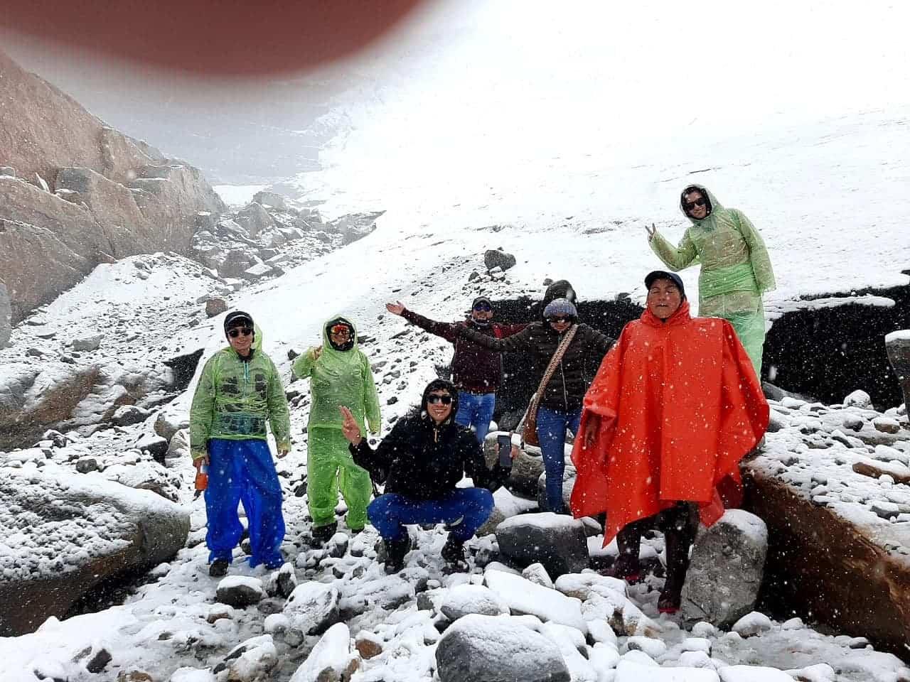 Volvió a nevar en El Cocuy, así se vivió este regalo de la naturaleza en Boyacá 1