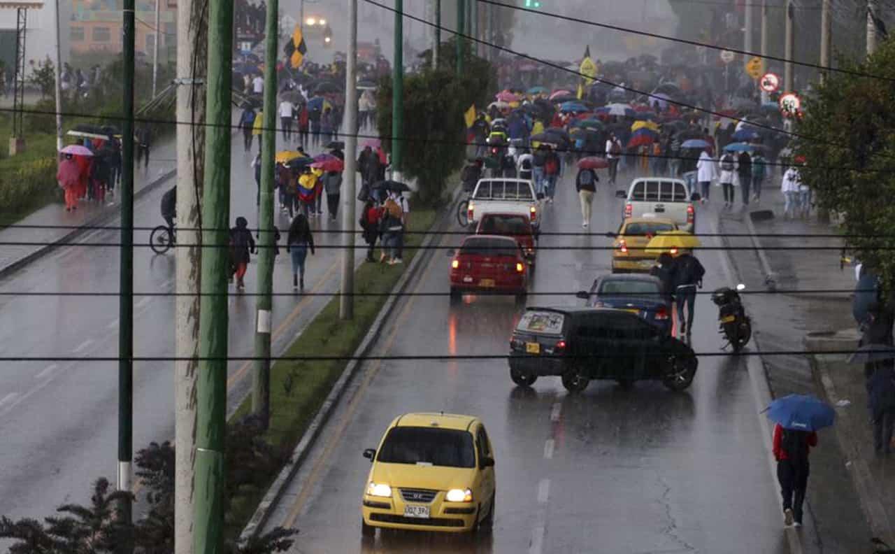 Construcción, comercio y transporte, los grandes afectados por el Paro Nacional en Boyacá 1
