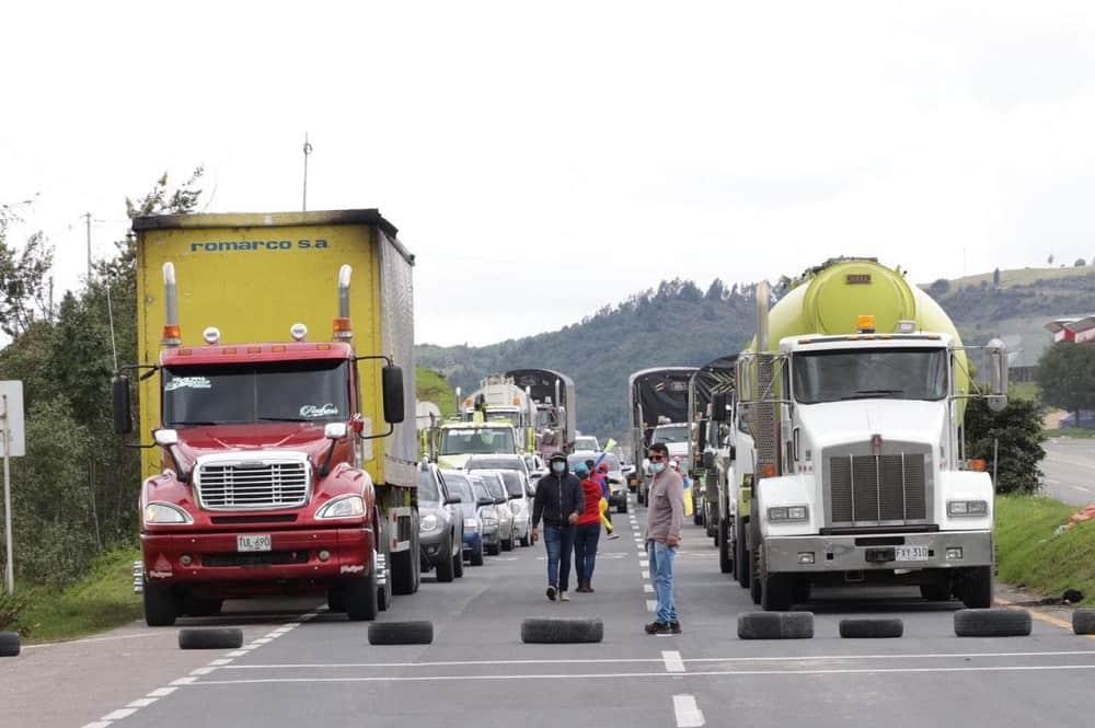 Se lograron acuerdos con manifestantes y se levantará bloqueo en el peaje El Mortiño, en Tuta 1