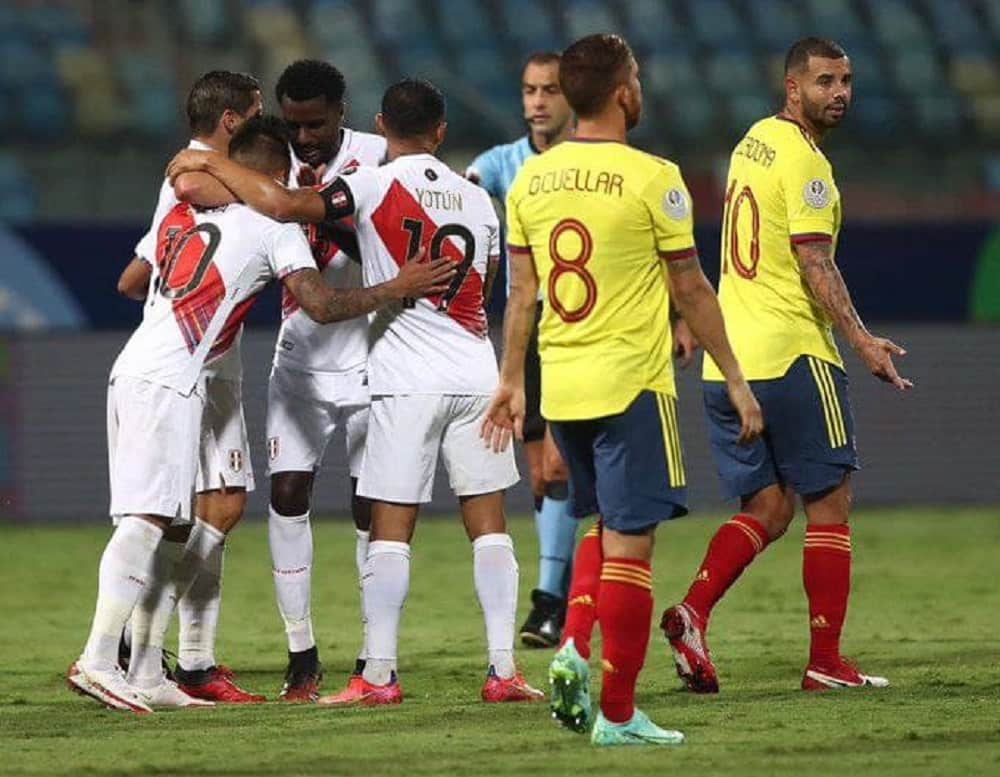 Así fue la derrota de la Selección de Colombia ante Perú 1