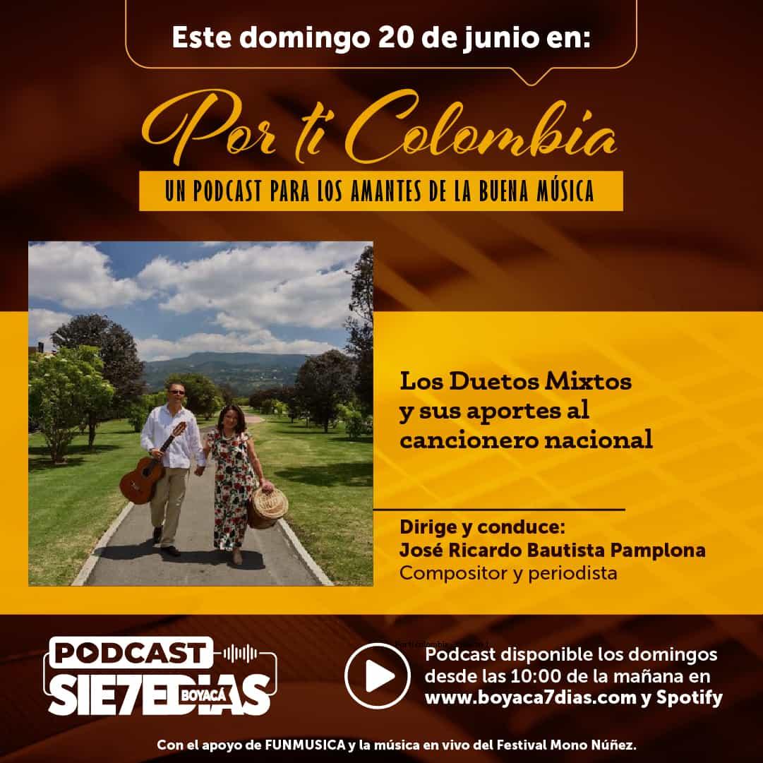Por ti Colombia - Los Duetos Mixtos y sus aportes al concierto nacional 1