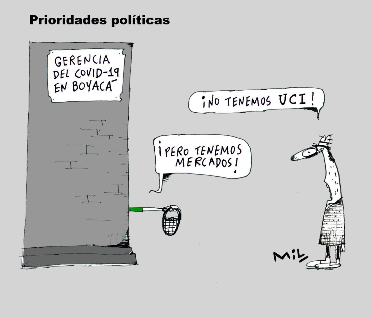 Prioridades políticas - #Caricatura7días 1