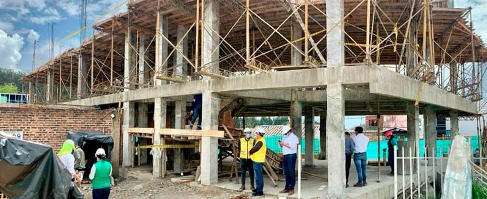 En un 39% avanza la construcción de la Unidad Básica de Atención en salud para el sector rural de Sogamoso 1