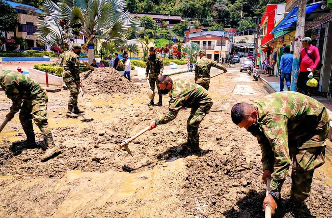 Un proyecto de vivienda sería la solución para las familias que resultaron damnificadas por las lluvias en Quípama 1