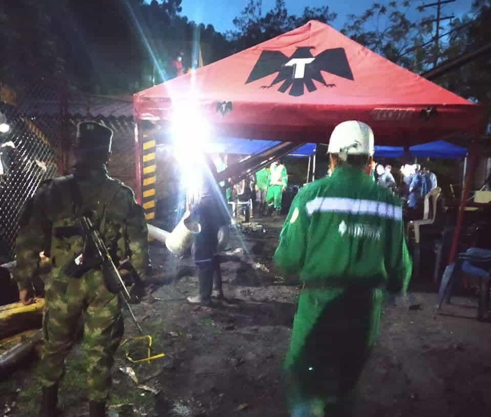 Rescatan a tres mineros con vida y a dos muertos en una mina de carbón en Socha. Siete siguen desaparecidos 1