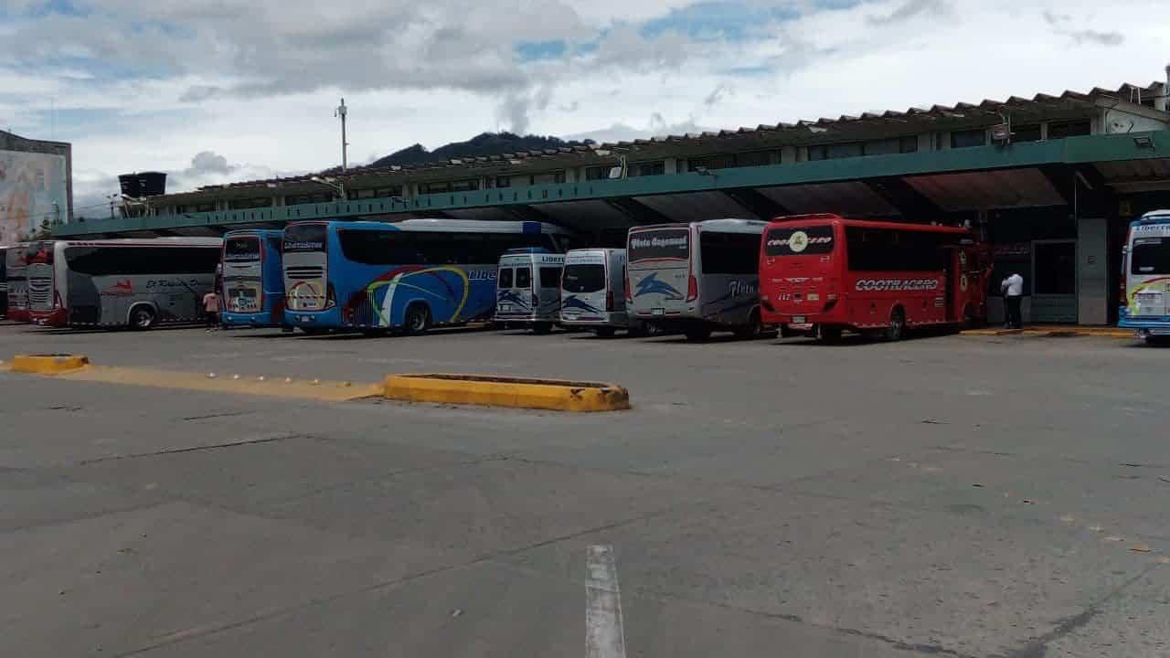 Se normaliza el despacho de buses desde la Terminal de Sogamoso #Tolditos7días 1