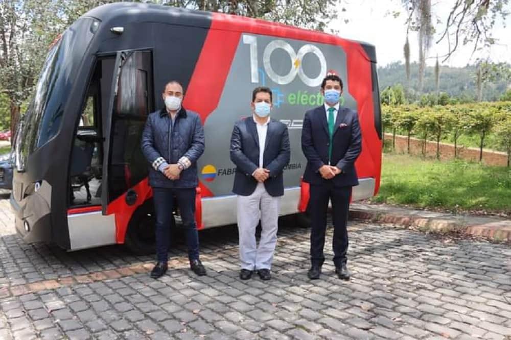 El vehículo eléctrico diseñado en Boyacá se va a exportar a Centro y Suramérica