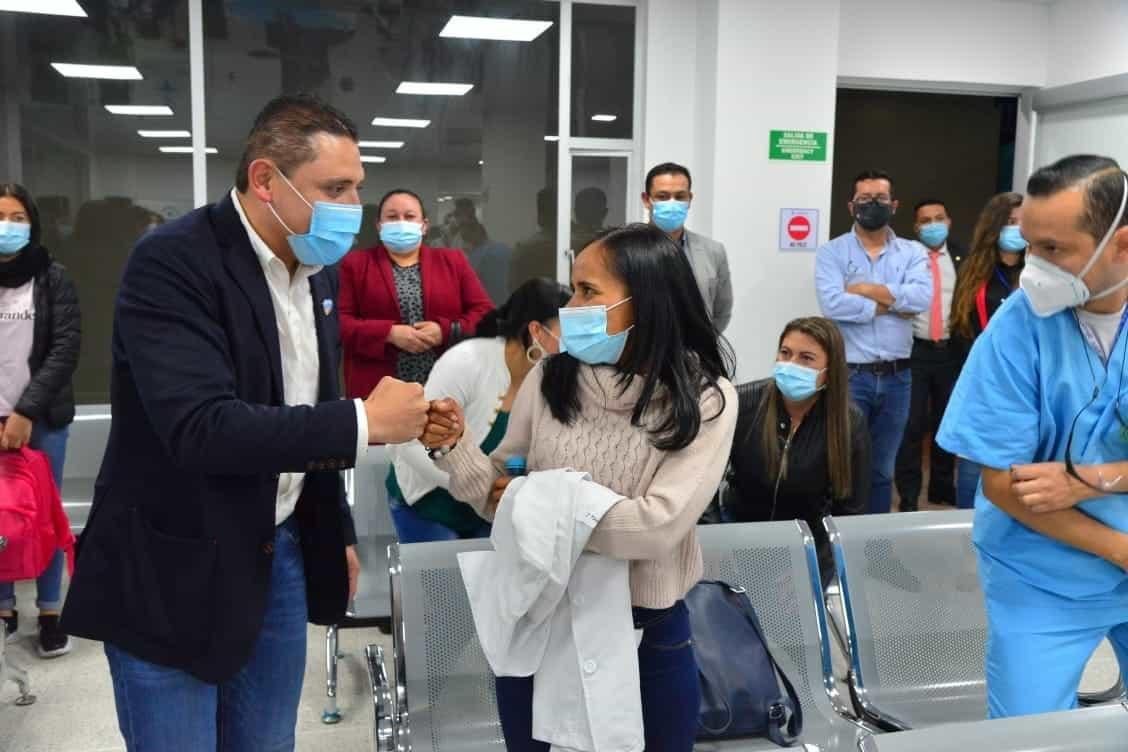 La bienvenida al recurso humano que llega a fortalecer el equipo de la ESE Santiago de Tunja 1