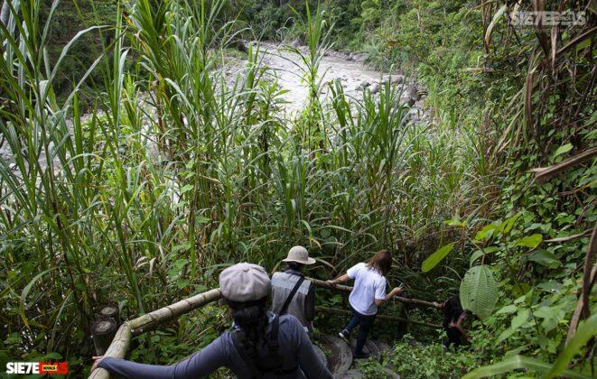 [Galería] - La cascada termal más alta de Colombia, un atractivo para disfrutar en familia en el municipio de Zetaquira 2