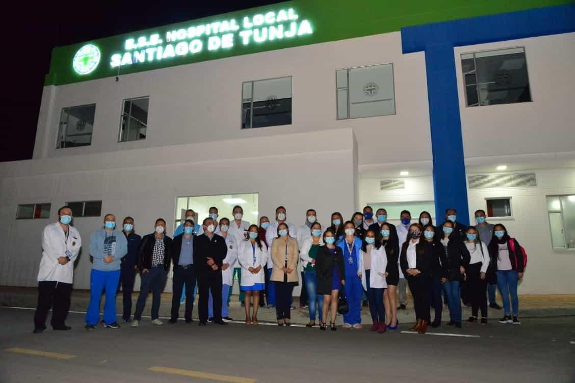 La bienvenida al recurso humano que llega a fortalecer el equipo de la ESE Santiago de Tunja 2