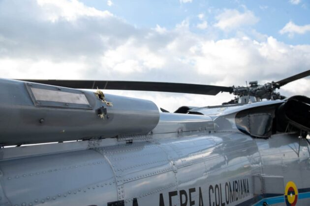 """Duque confirma """"atentado cobarde"""" contra helicóptero presidencial 4"""