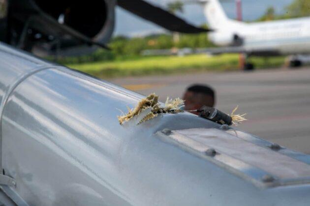 """Duque confirma """"atentado cobarde"""" contra helicóptero presidencial 5"""