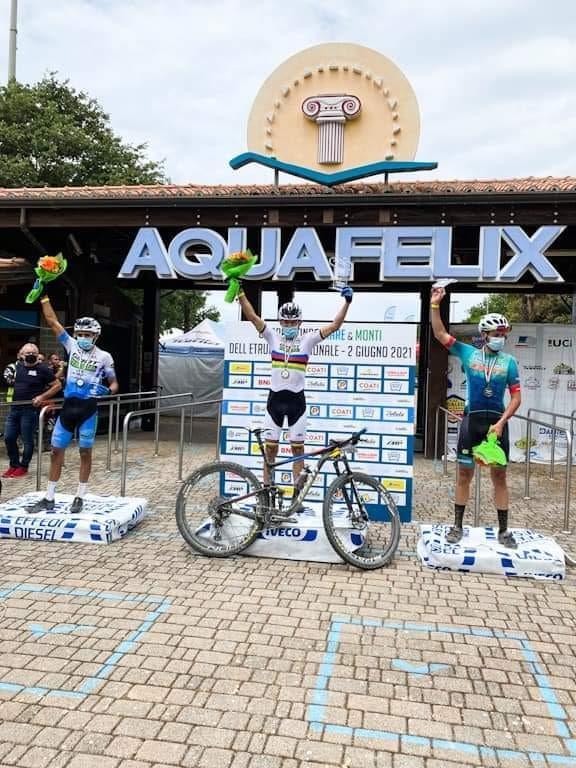 El ciclomontañista boyacense Leonardo Páez ganó el 'Gran Fondo Mare e Monti' en Italia 1