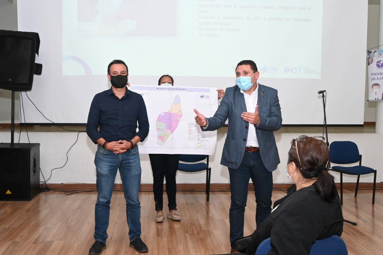 La maratón de Fúneme y sus reuniones con los líderes de la ciudad 1