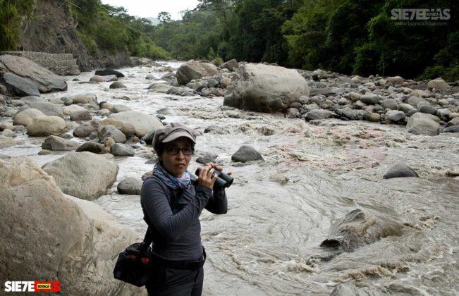 [Galería] - La cascada termal más alta de Colombia, un atractivo para disfrutar en familia en el municipio de Zetaquira 10