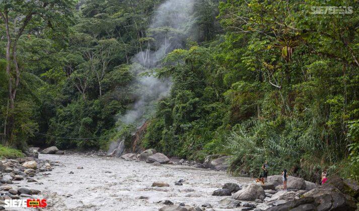 [Galería] - La cascada termal más alta de Colombia, un atractivo para disfrutar en familia en el municipio de Zetaquira 7
