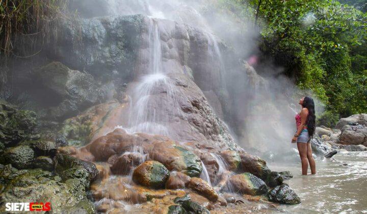 [Galería] - La cascada termal más alta de Colombia, un atractivo para disfrutar en familia en el municipio de Zetaquira 4