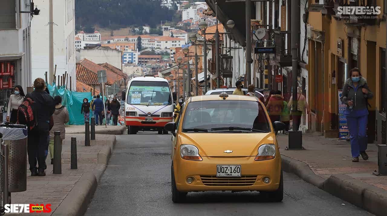 Taxistas de Tunja denuncian inseguridad en la ciudad 1