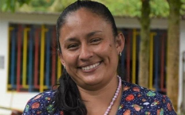 María Dohenyz Sacristán Carrillo ganó el Galardón Huellas, en la categoría Embajadora Comunitaria. Foto: archivo particular